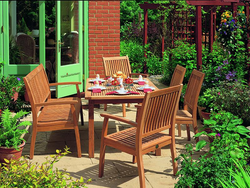 ADEN Ahşap Bahçe Masası