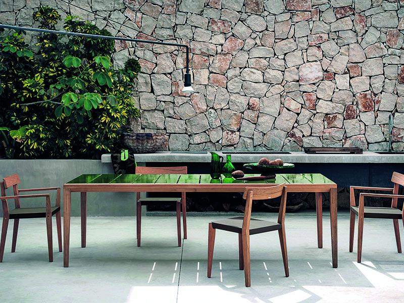 MYİL Ahşap Bahçe Masası