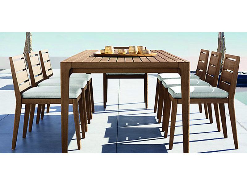 TRİM Ahşap Bahçe Masası