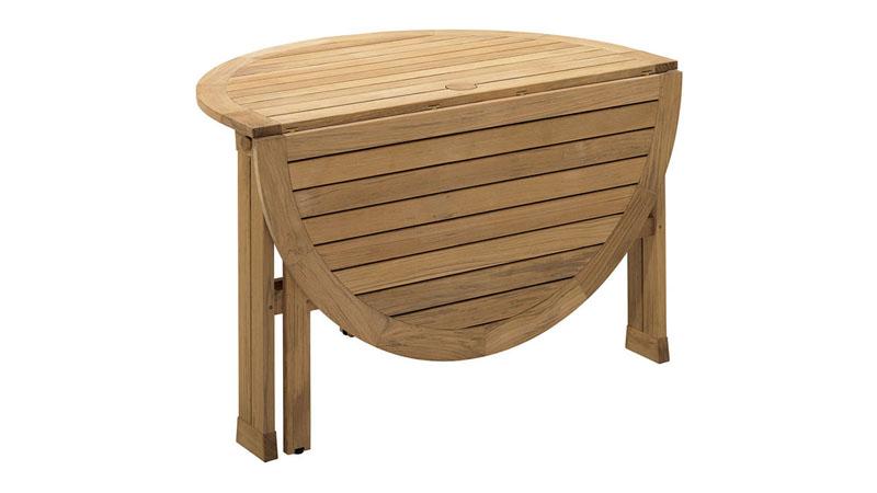 TUBBY Ahşap Bahçe Masası