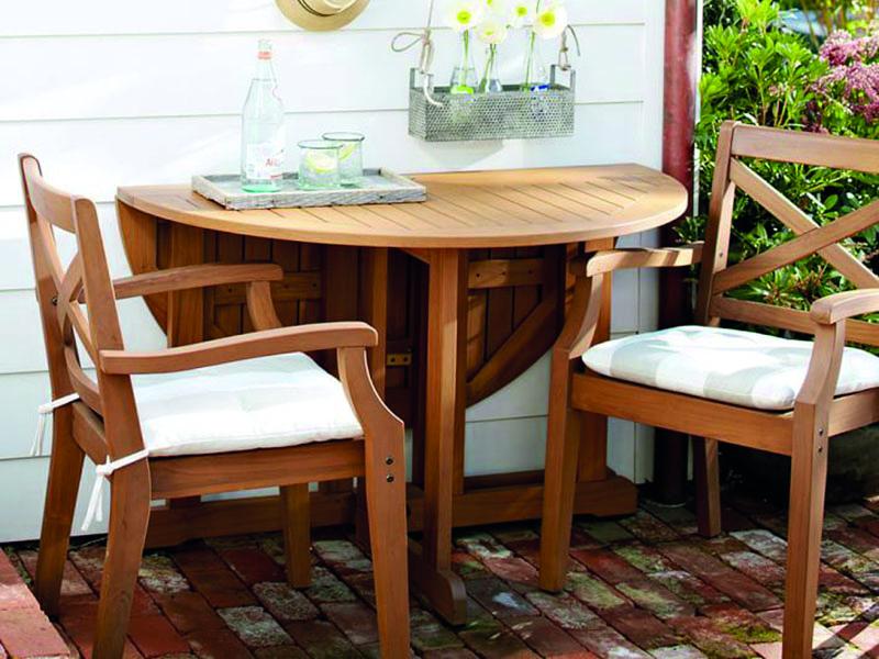 TWİST Ahşap Bahçe Masası