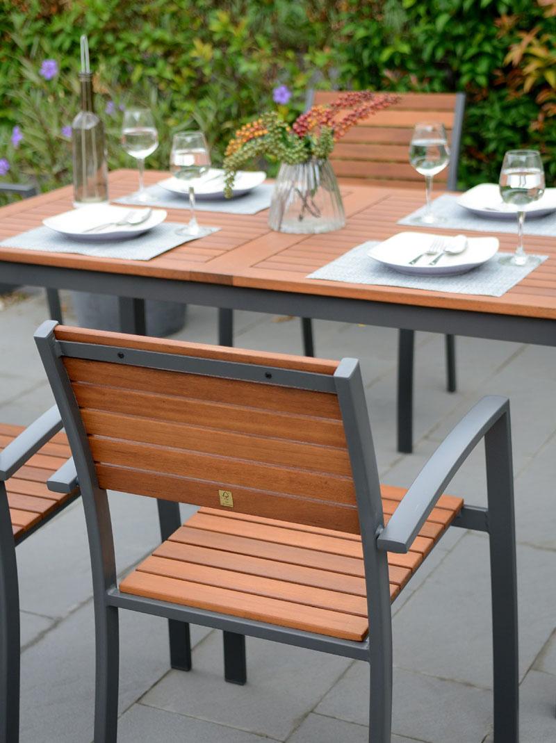 Petran Alüminyum Bahçe Sandalyesi